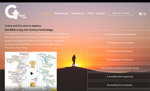 Access websitefeature gospelmap